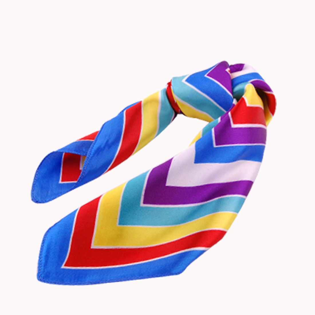 Foursquare Print Colorful Scarves Square Scarf for Ladies