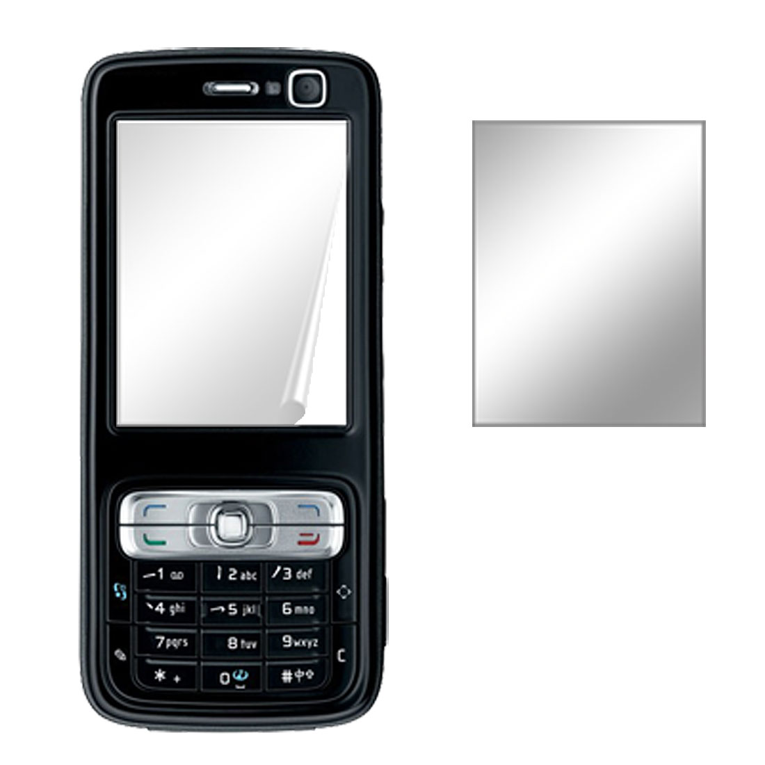 Fit Nokia N73 Cell Phone LCD Protector Screen Film Guard