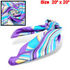 Square Headband Neck Wrap Scarf Colorful Trendy Scarves