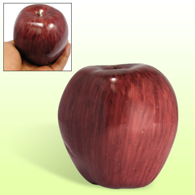 Red Delicious Apple Foam Manmade Fruit Decor Ornament