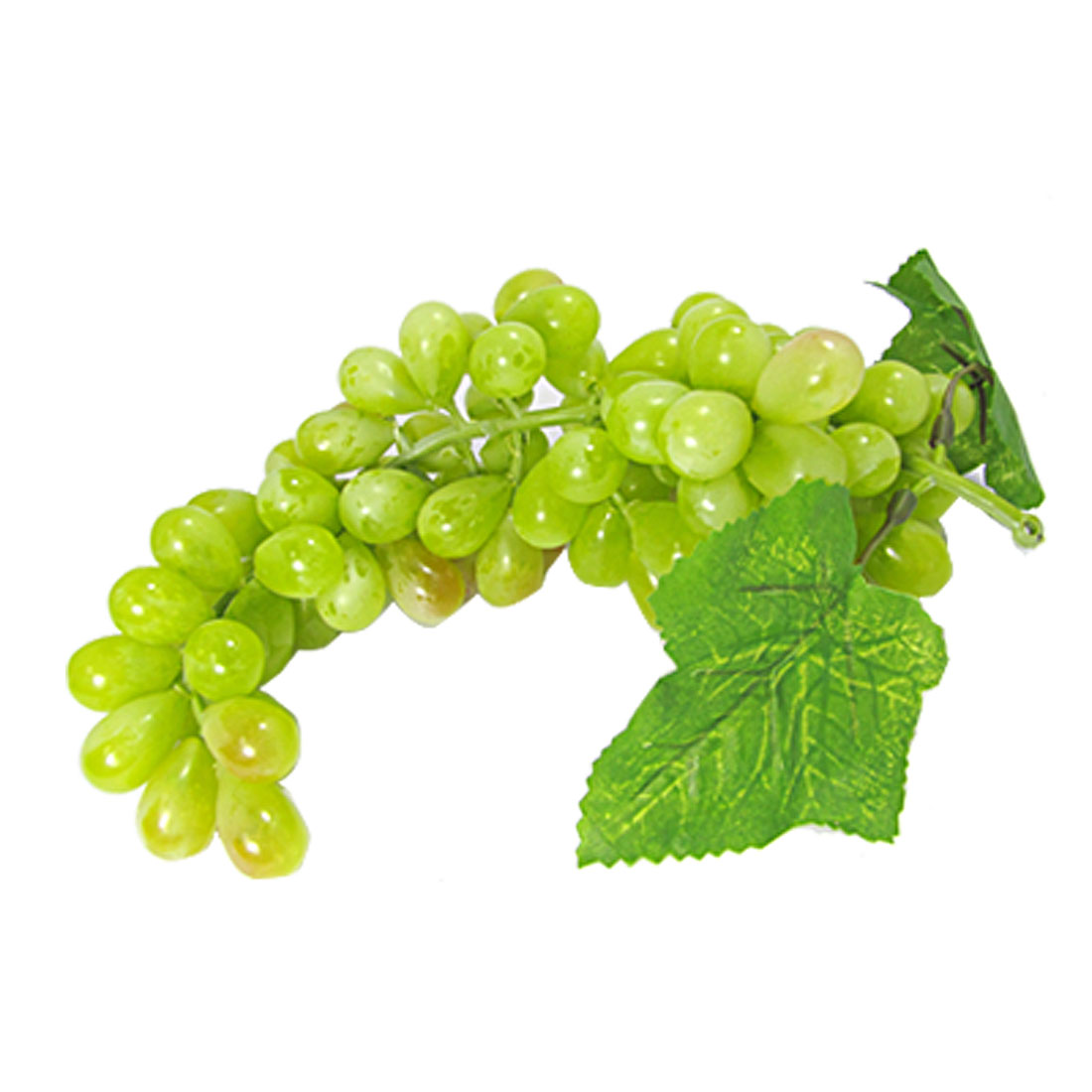 Green Plastic Bunch Grapes Desk Table Fruit Decor