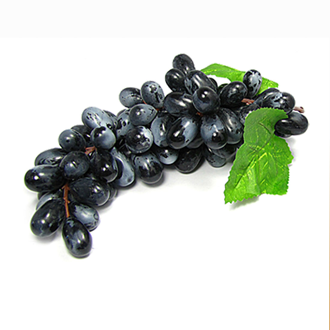 Soft Plastic Bunch Grapes Living Room Desk Black Decor
