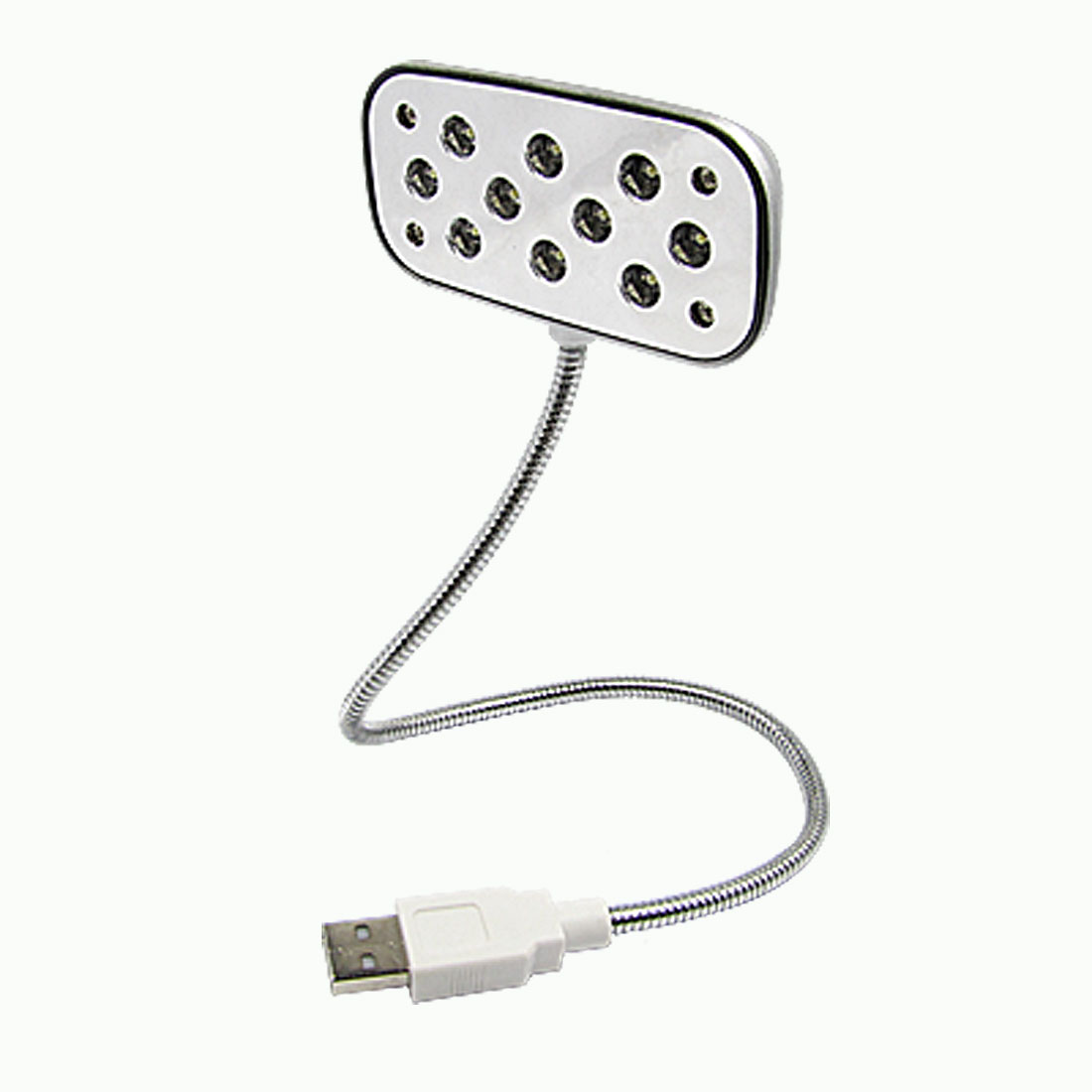 Laptop 10 LED Lamp PC Flexible Gooseneck USB 2.0 Light