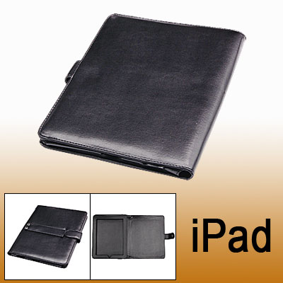 Faux Leather Protective Bag Case for Notebook Laptop Black