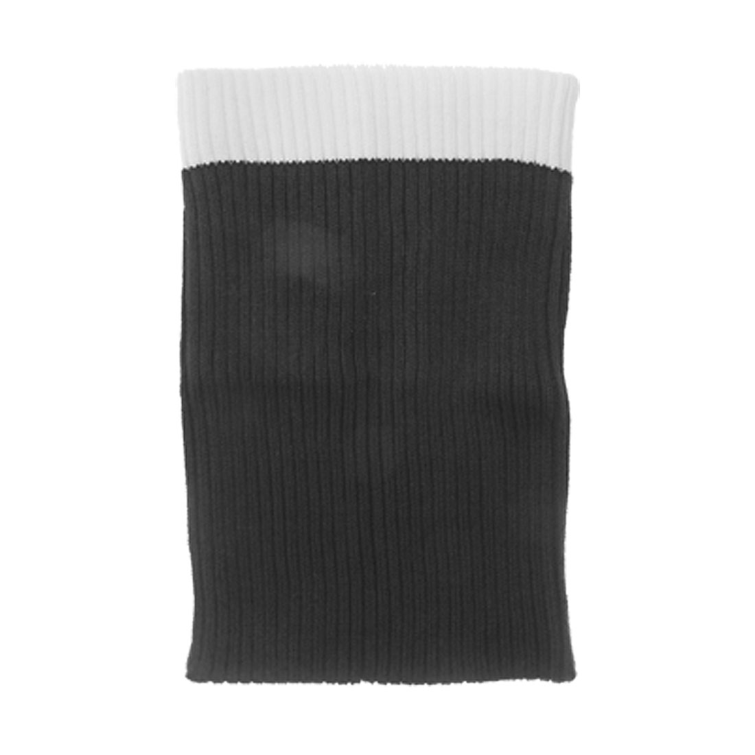 Black White Soft Knit Sock Sleeve Cloth Pouch for Notebook Laptop