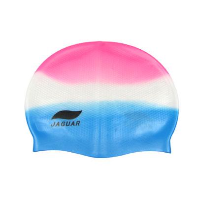 Interior Anti Slip Silicone Skin Hat Swimming Cap for Adult