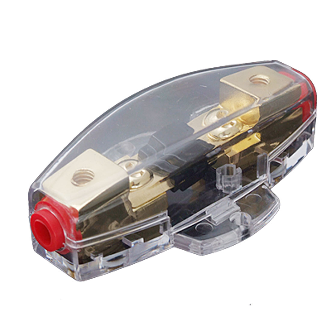 60A Fuse Holder Clear Casing for Car Truck Amplifier