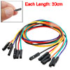 30CM Length Female to Female Pin Connector Wire 6 PCS