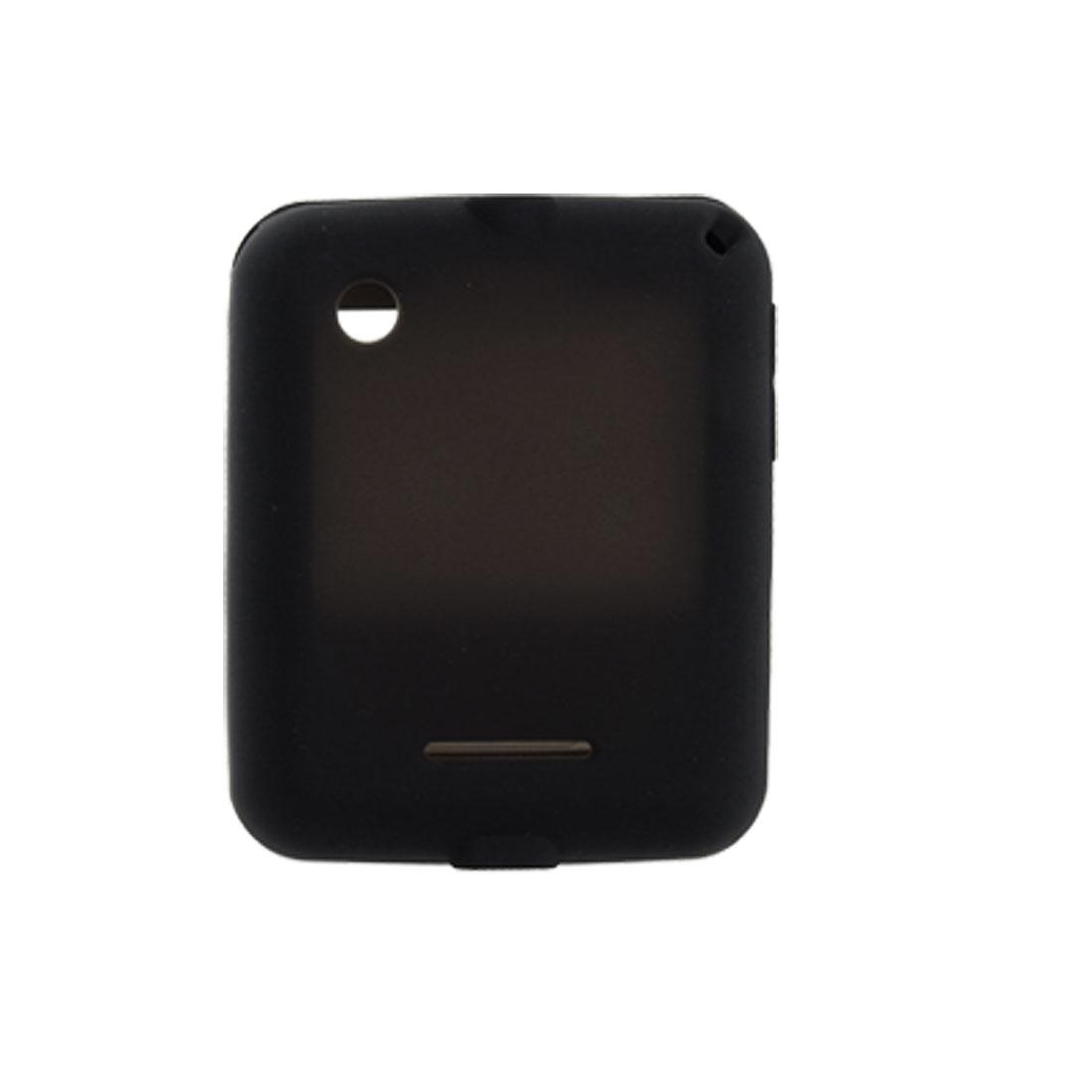 Black Silicone Protective Cover Skin for Motorola A45 Motocubo