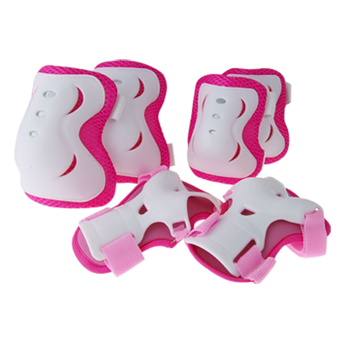 Kids Skating Sports Support for Elbow Wrist Knee 3 Pair