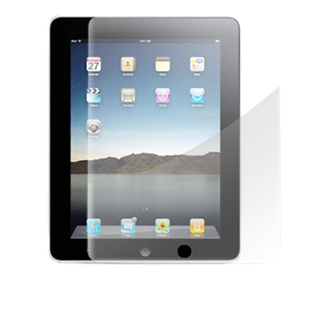LCD Anti-glare Protector Screen Guard for Apple iPad 1
