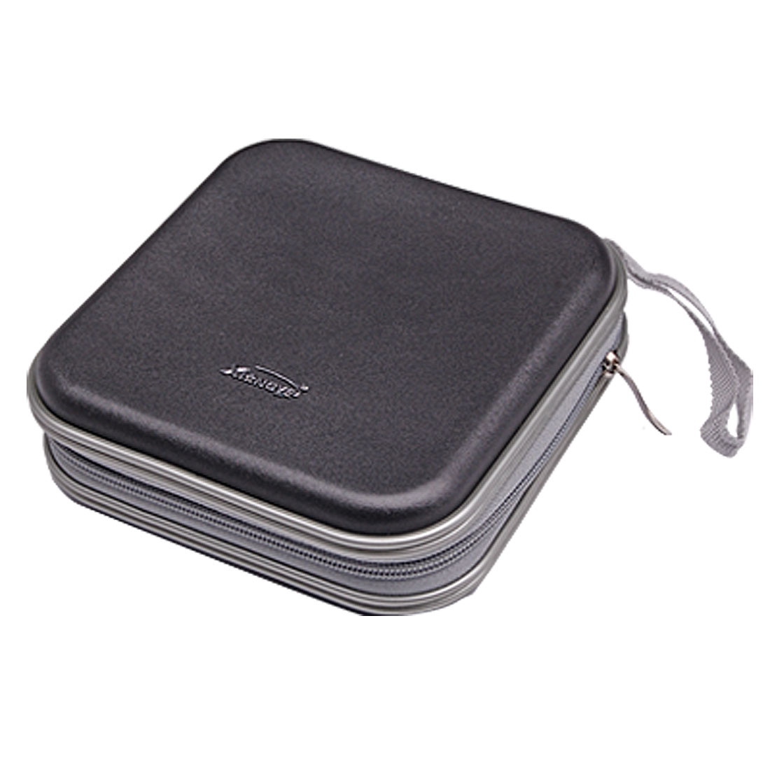 40 Disc CD VCD DVD Organizer Carrying Square Case Storage Black