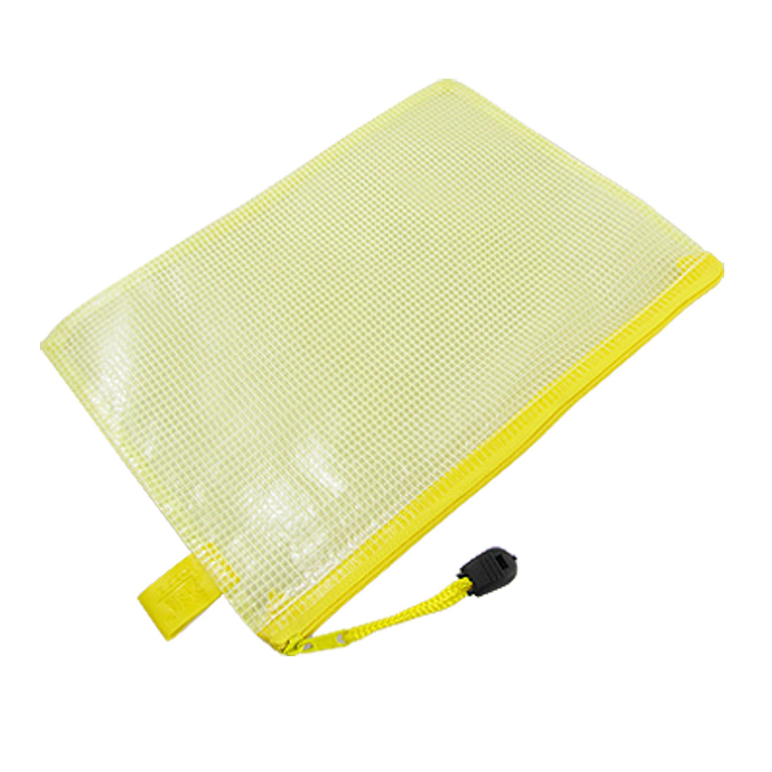 Inner Netty Design Clear Yellow A5 Paper Size Files Bag
