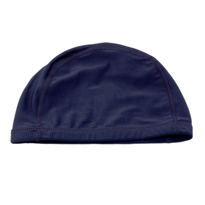 Midnight Blue Spandex Fibre Polyester Cap Swim Hat