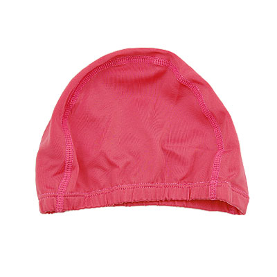 Ladies Water Sports Elastane Hat Swimming Fuchsia Cap