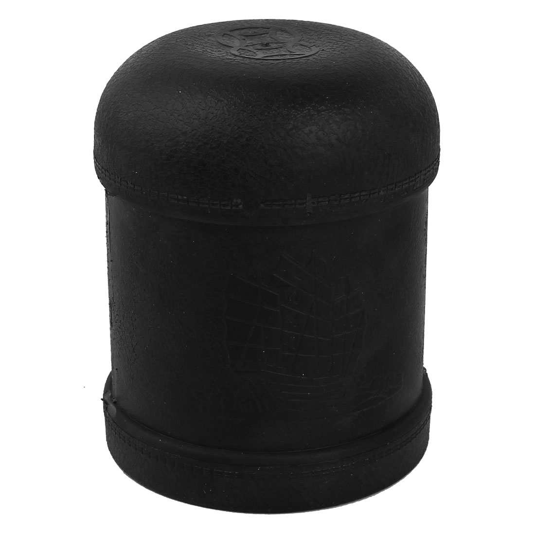 Pub Bar Casino Luck Games Plastic Black Dice Shaker Cup