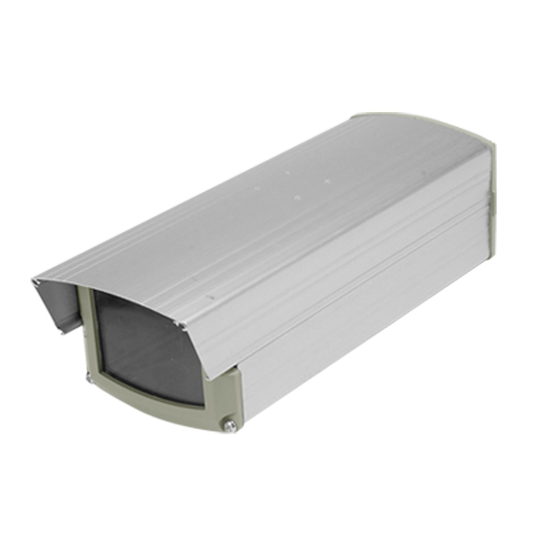 Silver Tone Case Box Housing Aluminium for Camera Security CCTV