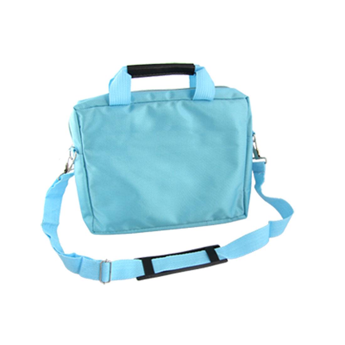 """10"""" 10.1"""" 10.2"""" Light Blue Notebook Laptop Shoulder Bag Carrying Case"""