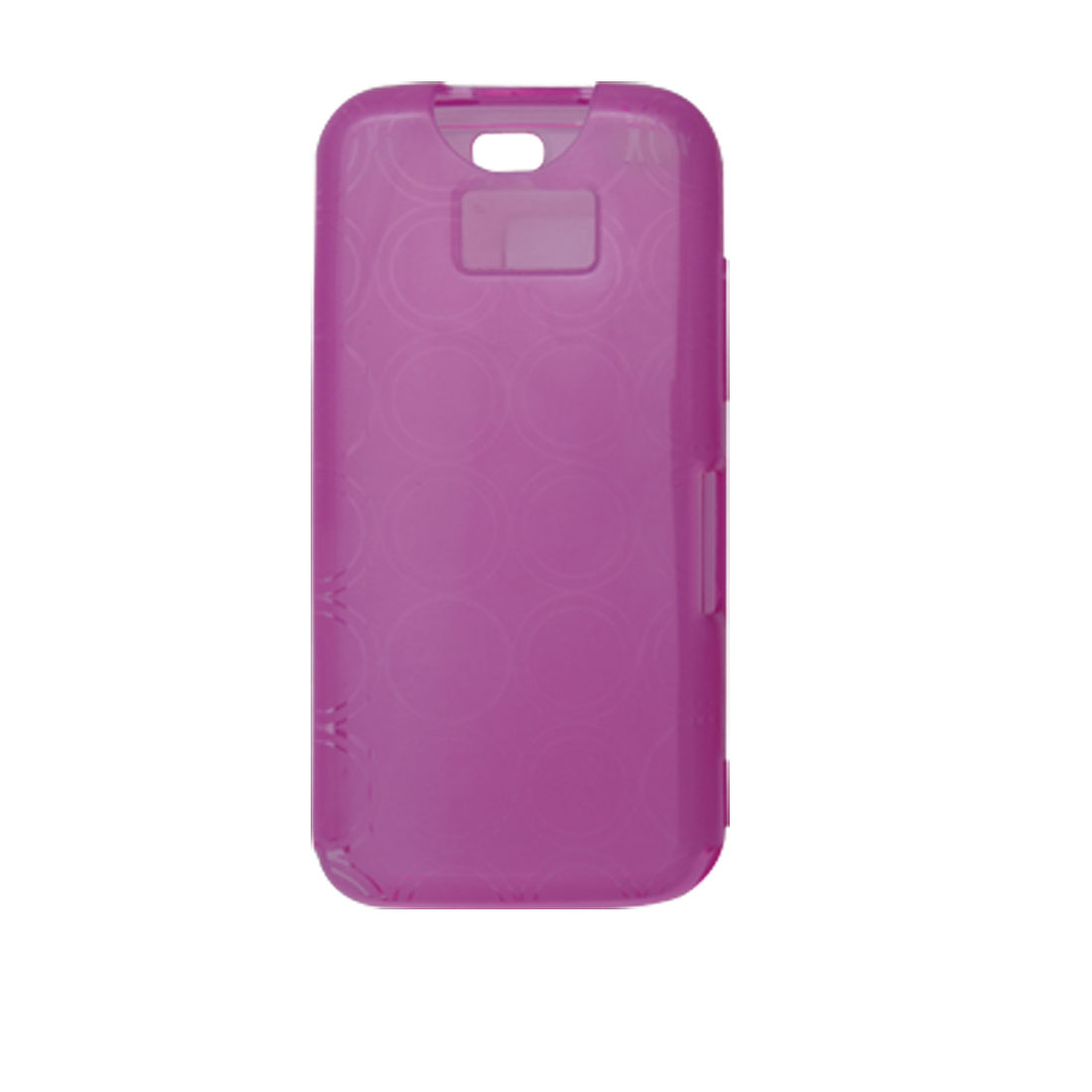 Clear Purple Soft Plastic Case Protector for Nokia 5530