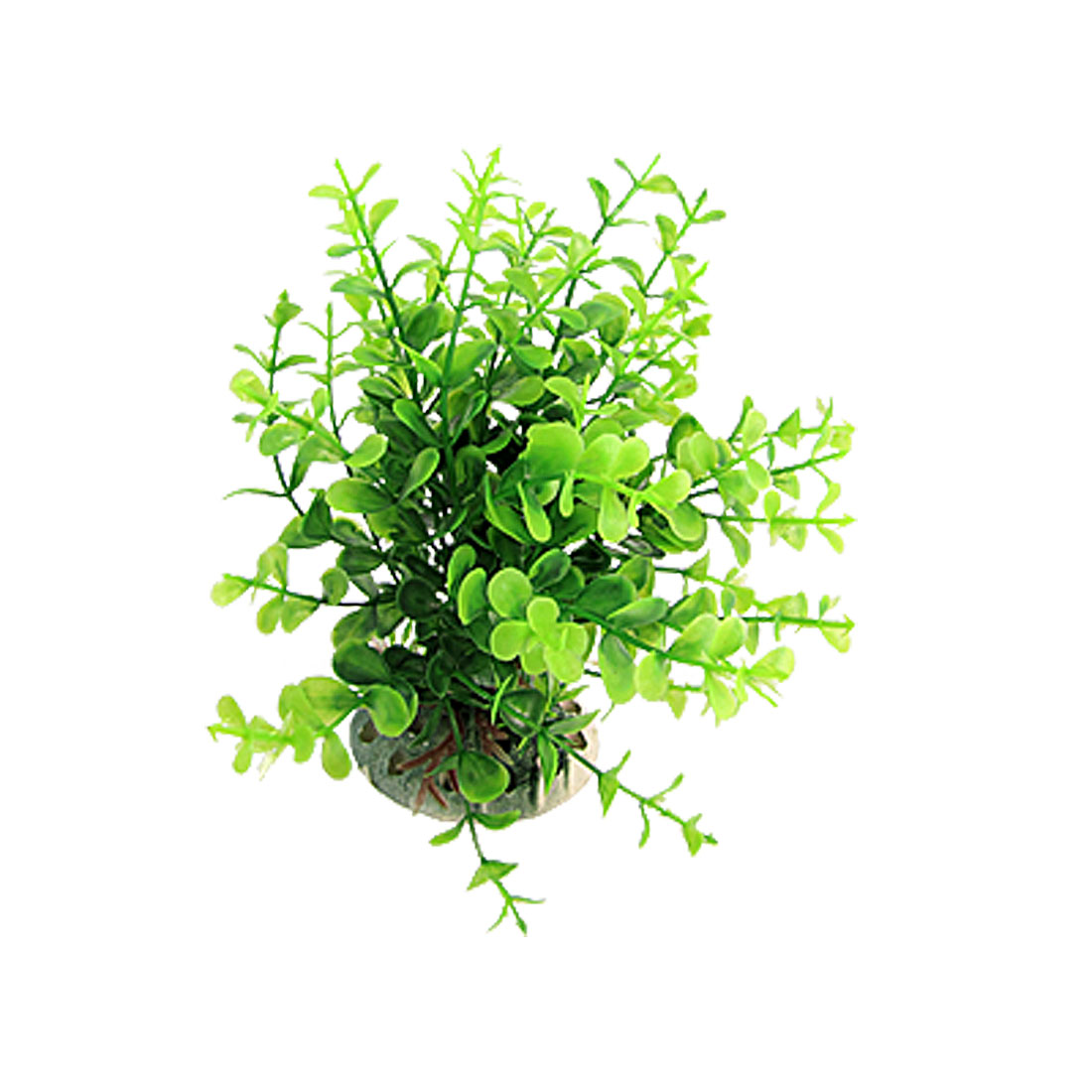 Green Plastic Float Grass Ornament Decor for Fish Tank Aquarium