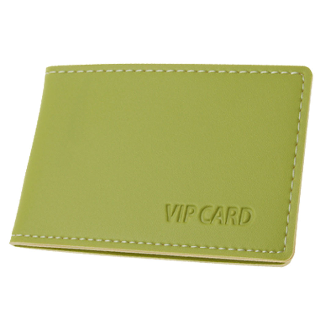 Retangle Faux Leather Bank Credit Card Holder