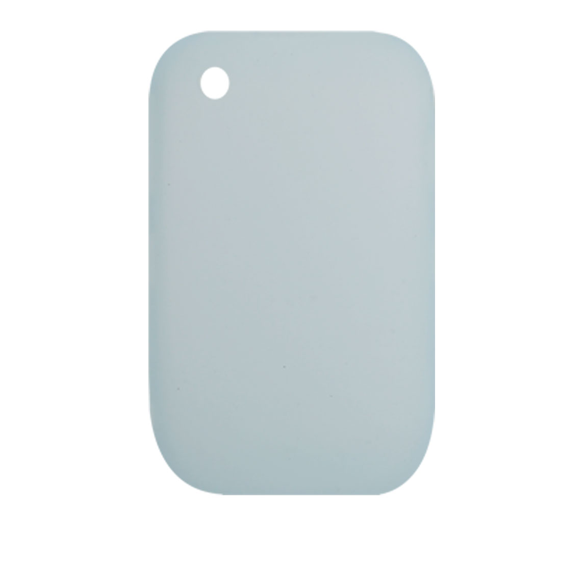 Baby Blue Silicone Skin Case Protector for Blackberry 8520