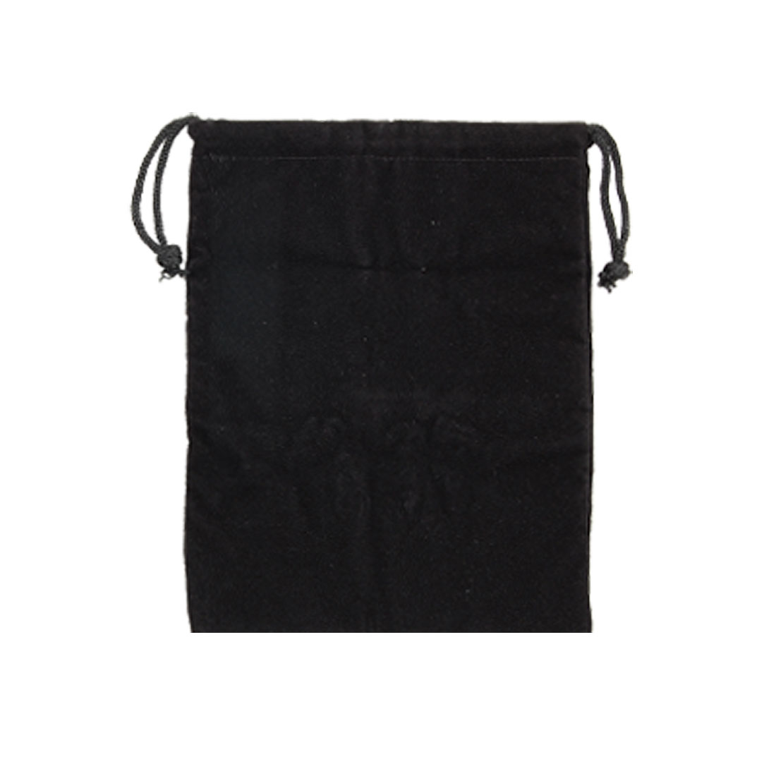 Black Panne Velvet Cloth Carrying Bag Pouch for Notebook Laptop