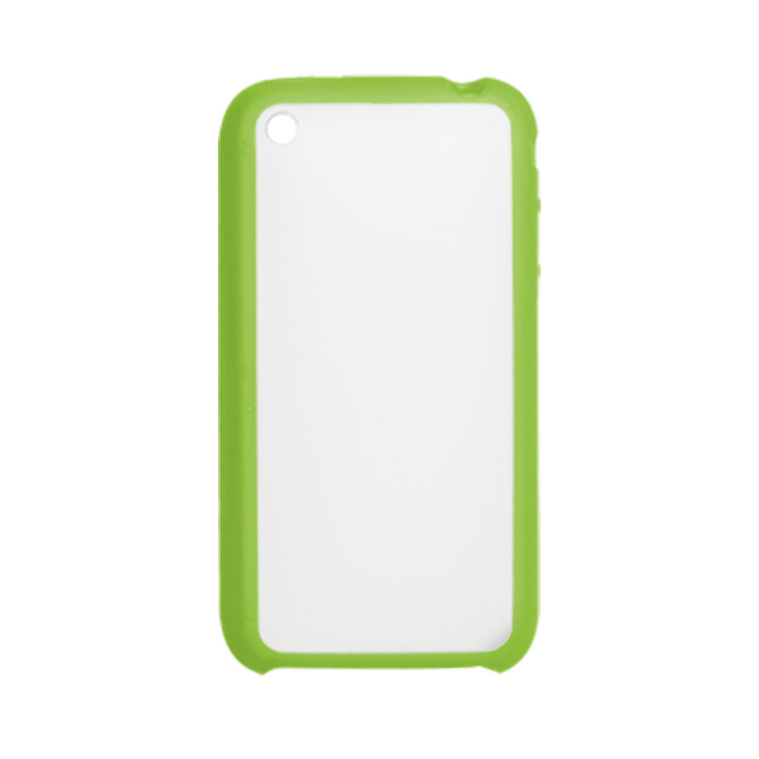 Clear Anti Glare Back Hard Plastic Case for iPhone 3G 3GS