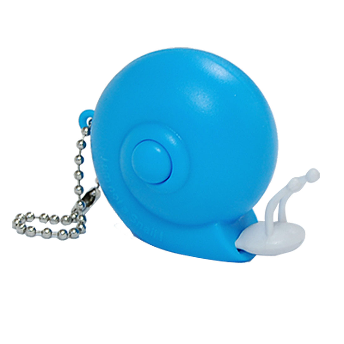 Blue Plastic Snail Tape Measure Ruler With Key Chain 1M