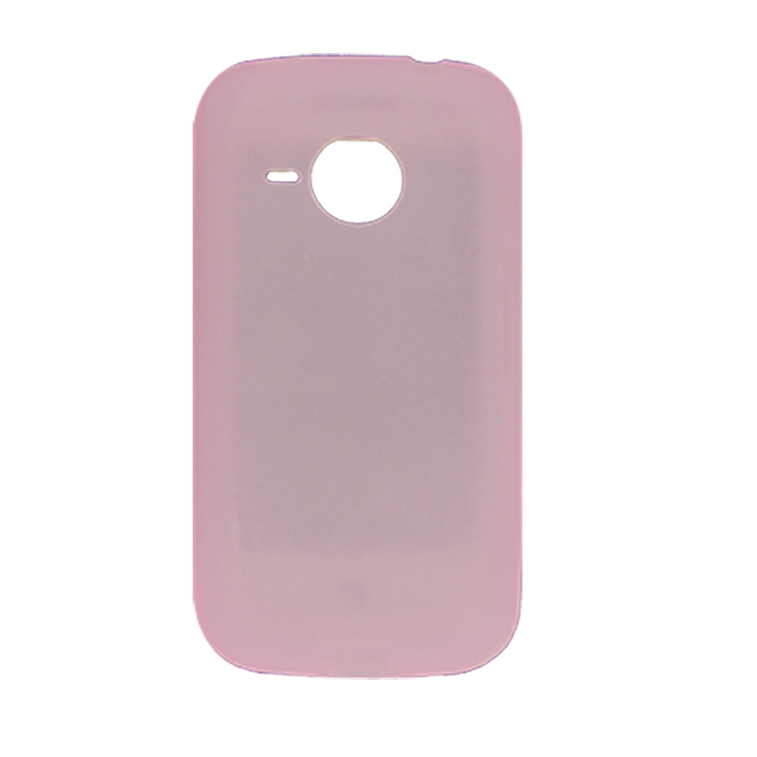 Pink Silicone Skin Cover Case for HTC Desire 6200