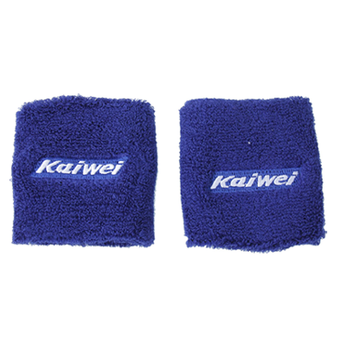 Blue Elastic Brace Protector Sports Wristband 2 PCS