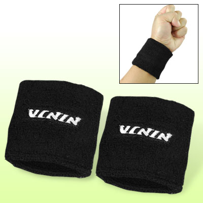 Adult Sports Basketball Band Brace Black Protector Wristband