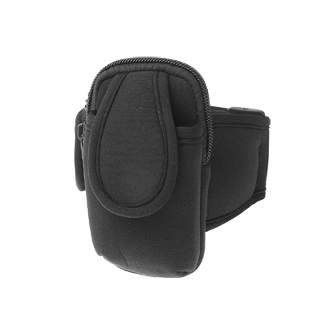 Black Cell Phone Arm Pouch Case for Nokia 7650 & MP3 MP4