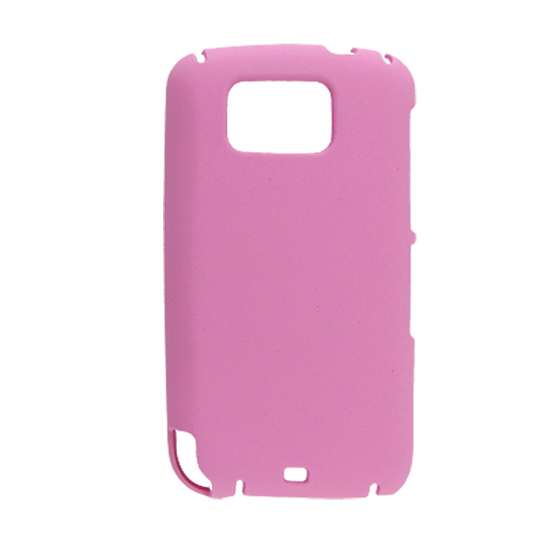 Light Pink Rubberized Plastic Case for HTC Touch2 T3333