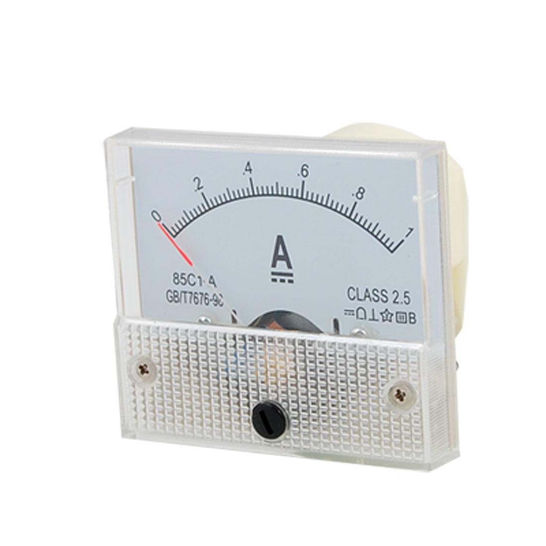 Direct Current 0-1 Ampere Amperemeter Analog Panel Meter