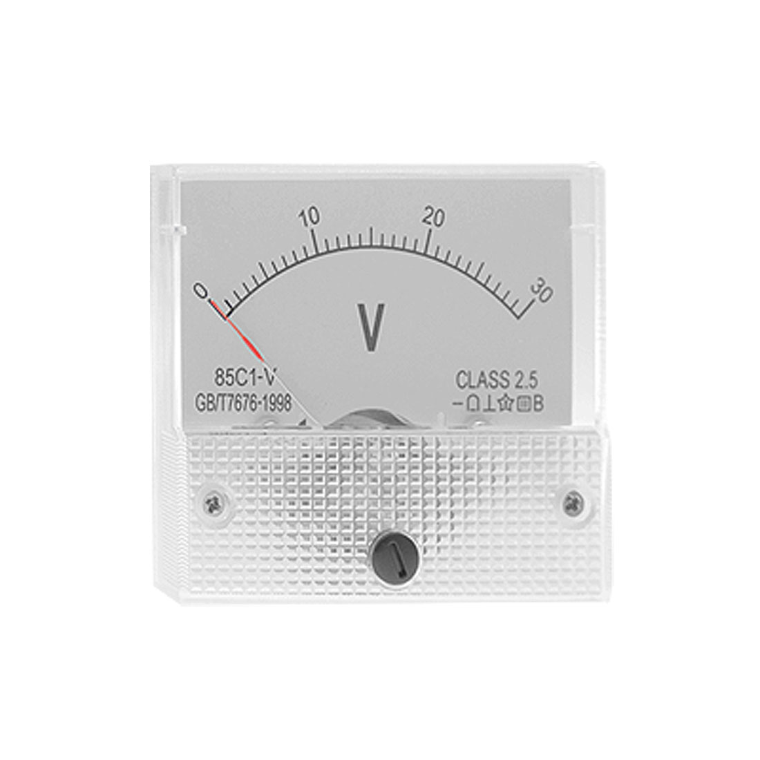 Direct Current 0-30 Volt Voltmeter Analog Panel Meter