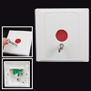 Wht Plastic Square Family Office Emergency Panic Button