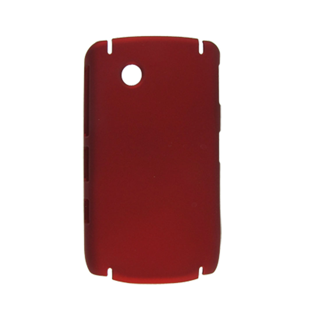 Dark Red Hard Plastic Rubberized Back Case for Blackberry 9630