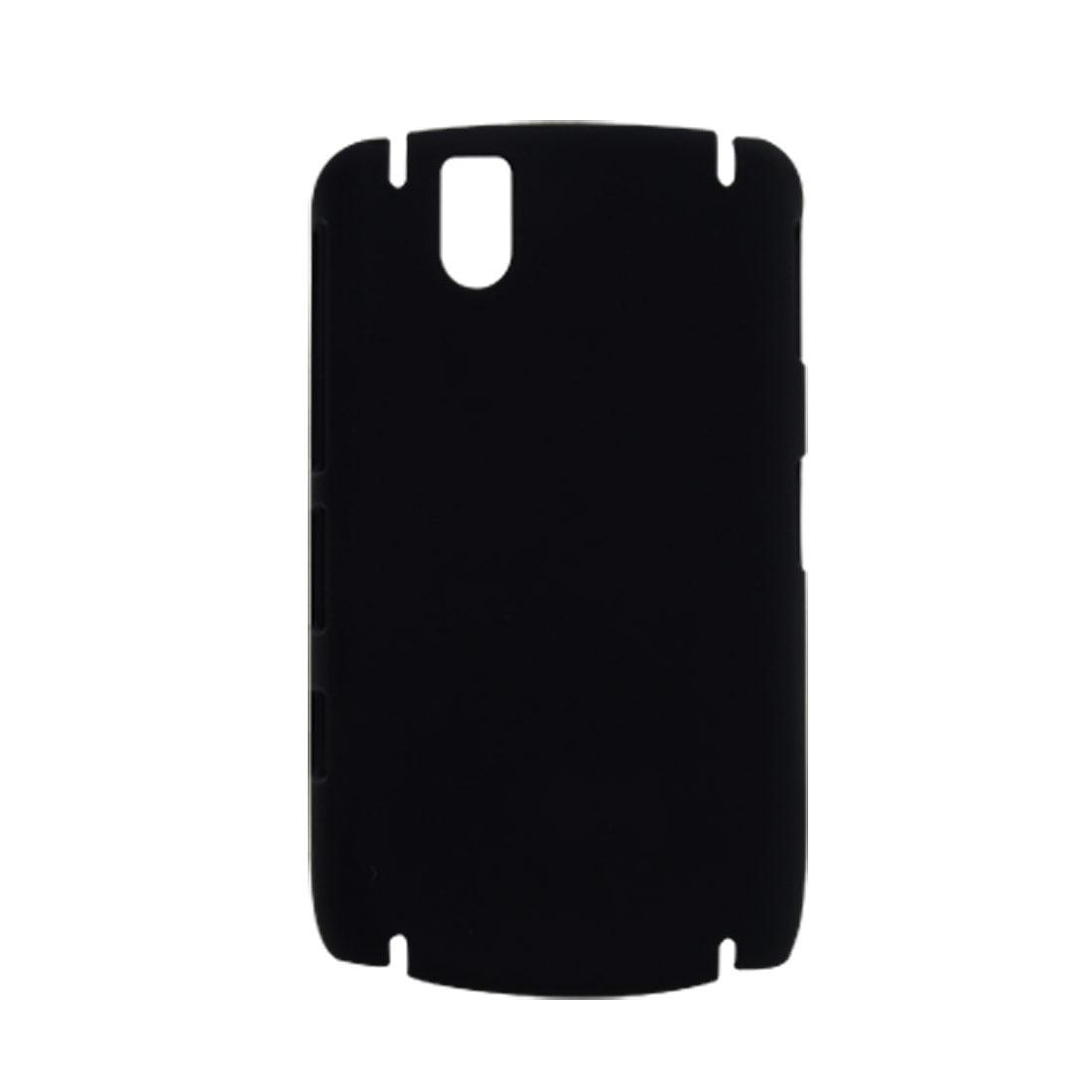 Rubberized Black Hard Plastic Back Case for Blackberry 9630