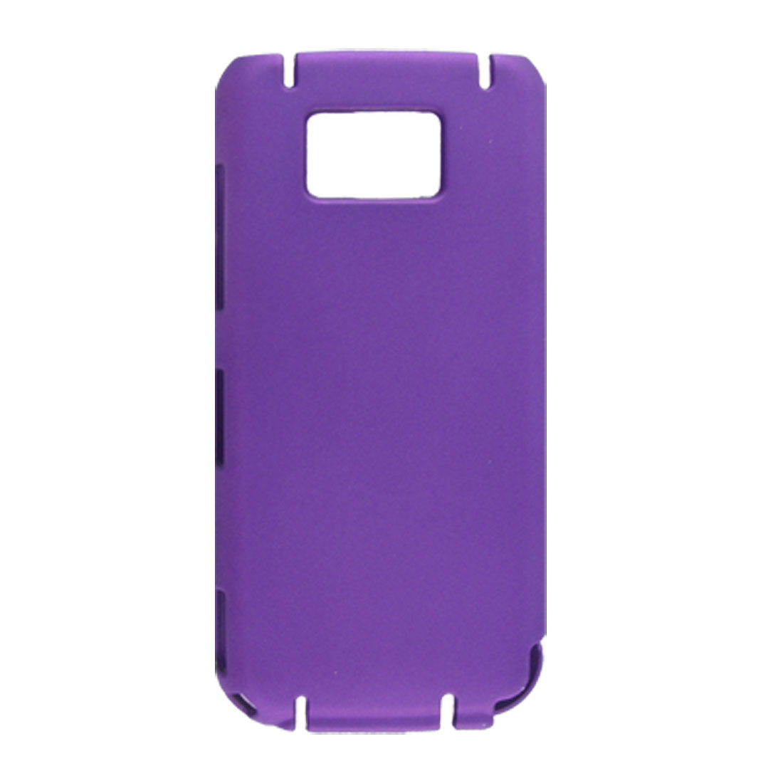 Purple Protective Rubberized Hard Plastic Cover for Nokia 5530