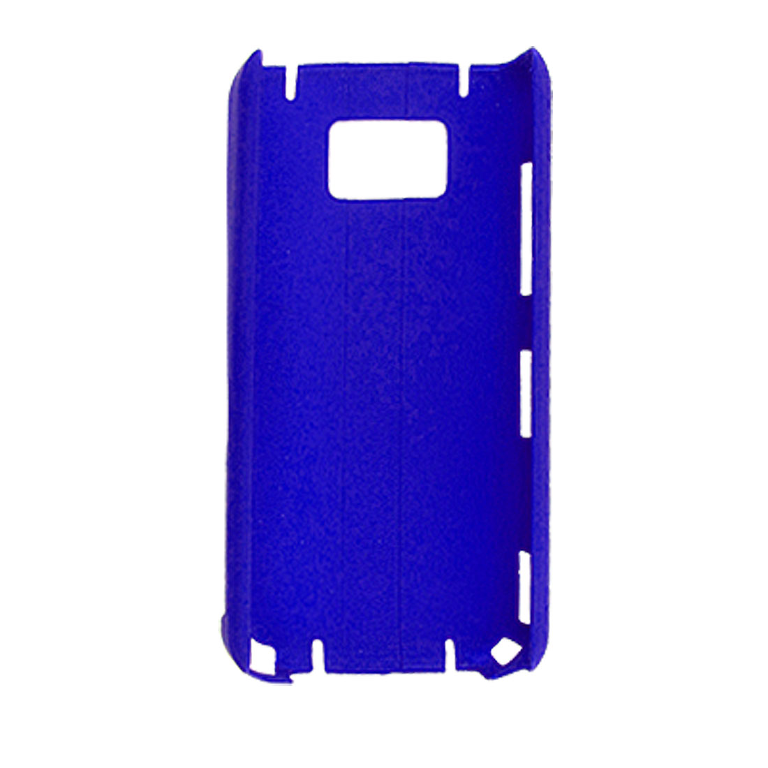 Blue Rubberized Hard Plastic Case Cover for Nokia 5530