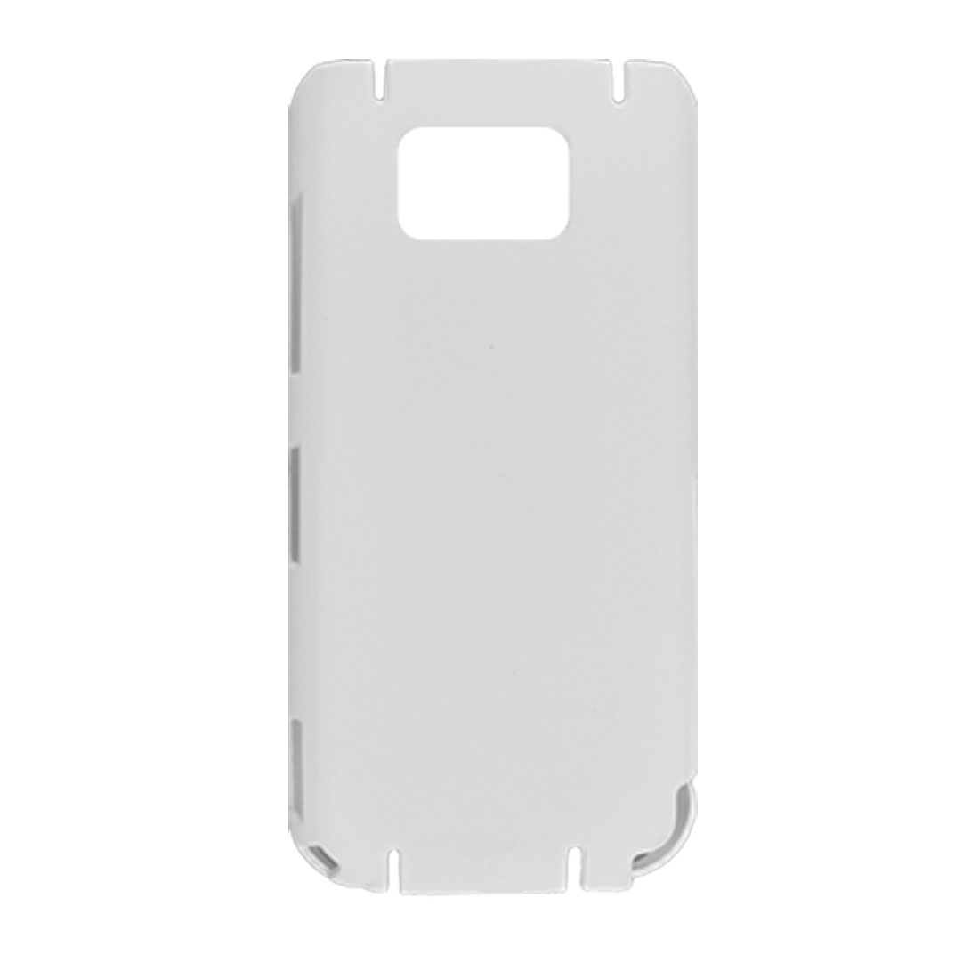 Rubberized Hard Plastic Shell Case for Nokia 5530 White