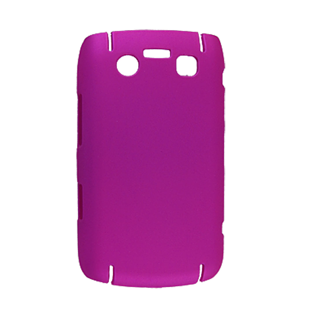 For BB 9700 Hot Pink Rubberized Hard Plastic Back Case
