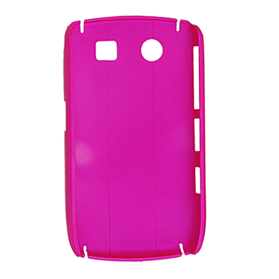 Hot Pink Plastic Rubberized Cover for Blackberry 8900