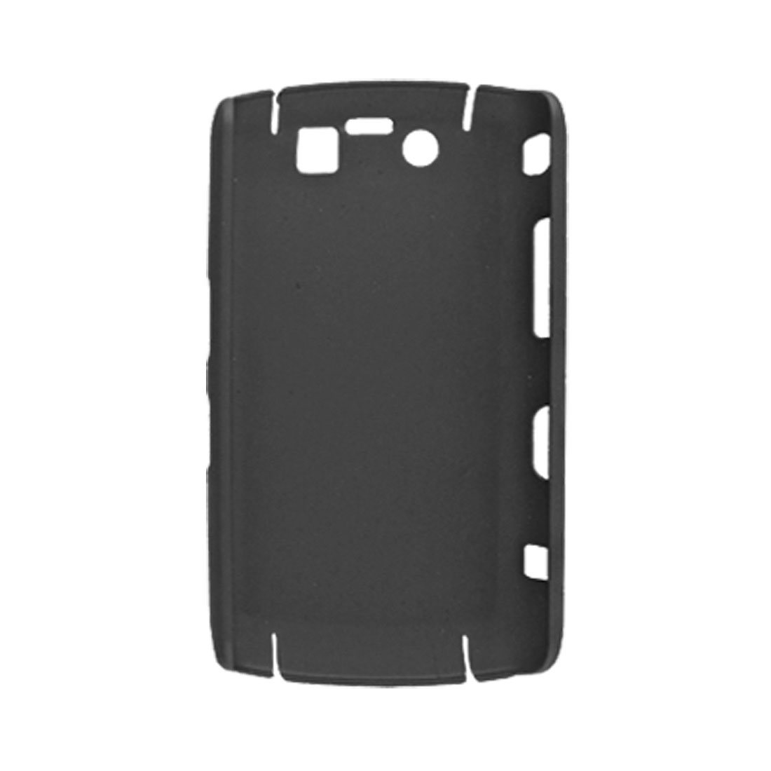 Rubberized Hard Plastic Shell Case for BB 9700 Black