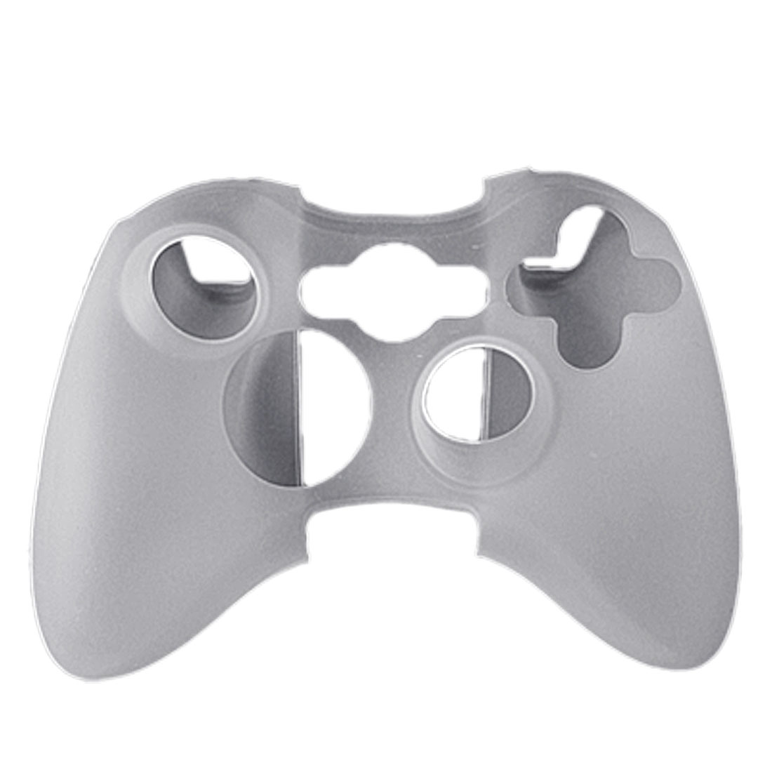 White Silicone Skin Case Cover for Xbox 360 Controller