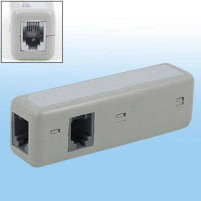 Telephone RJ11 ADSL Line Splitter 3 Extender Adapter