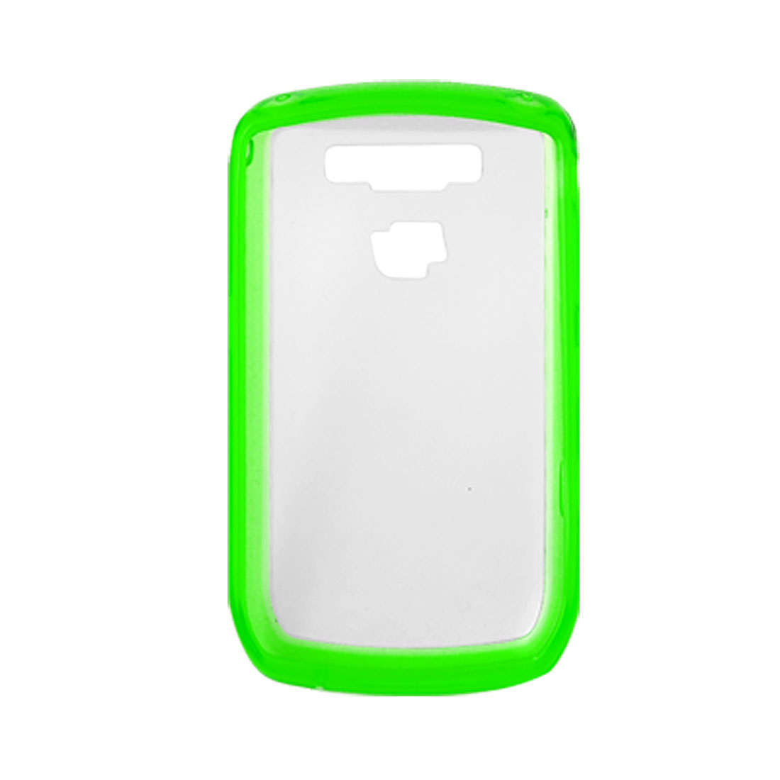 Green Clear Anti Glare Case Shell for Blackberry 8900