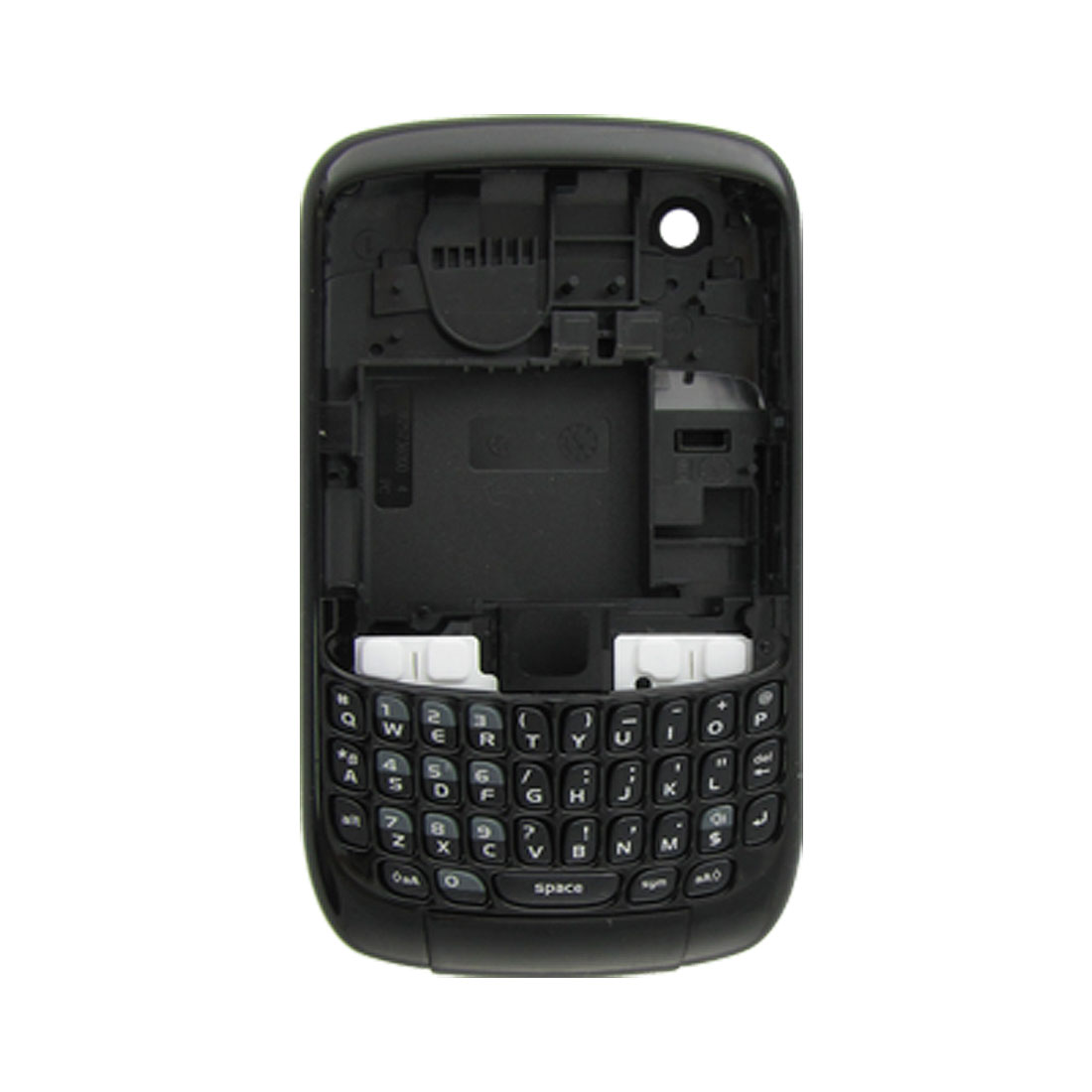 Clear Anti Glare Case Shell for Blackberry 8900 Gray