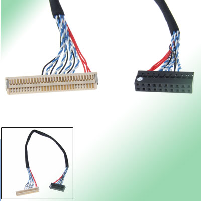 "10.2"" LVDS LCD Cable Lines Connector for TV Computer"